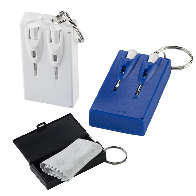 Mini set de destornilladores con Microfibra - OFERTA