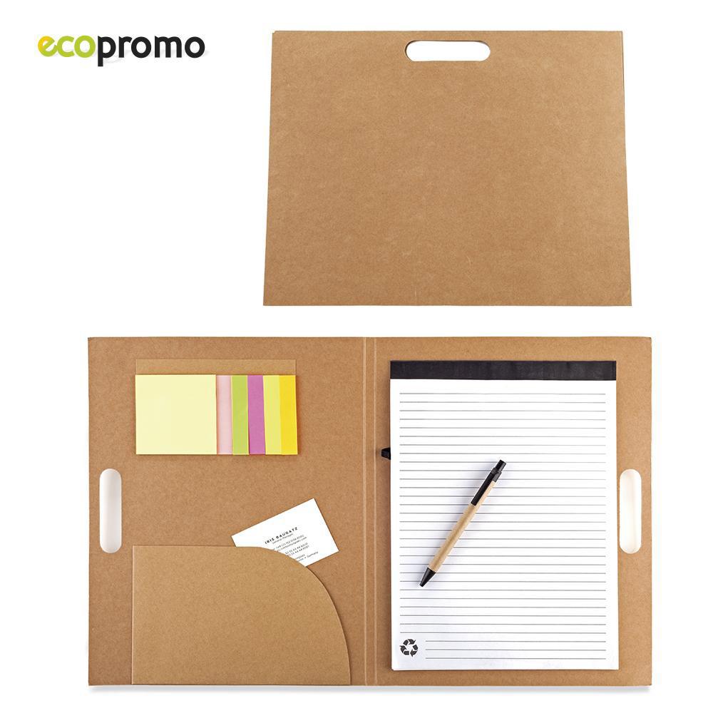 Carpeta de Cartón Reciclable