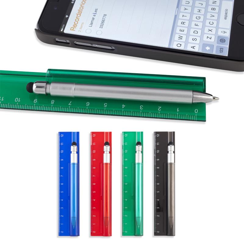 Set Ruler con bolígrafo Stylus