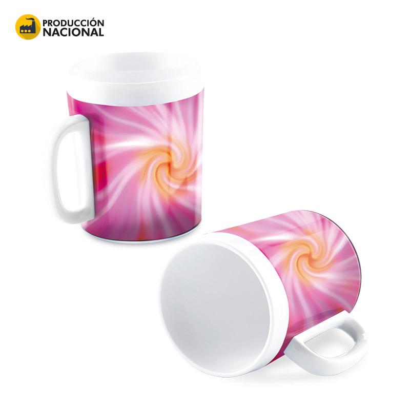 Coffee Mug plástico 11oz - Producción Nacional