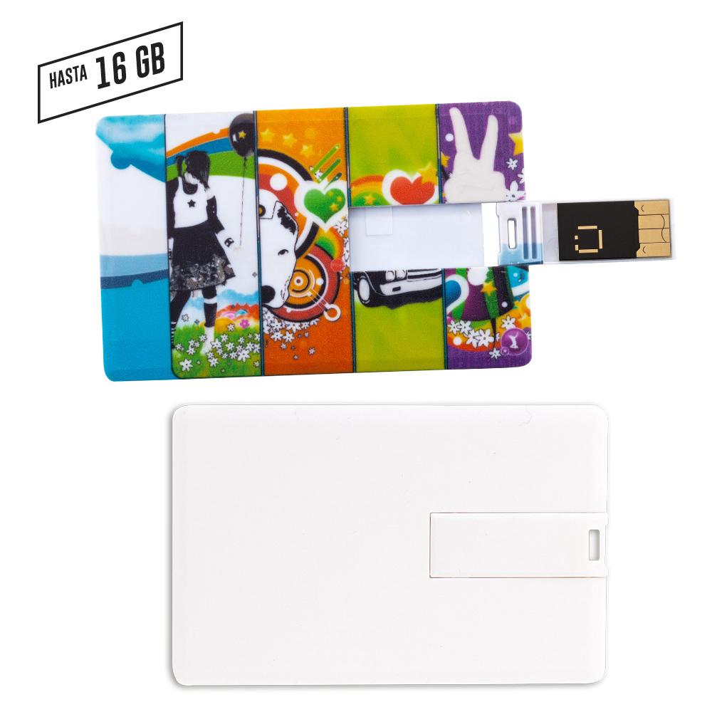 Memoria USB Credit Card - PRECIO NETO