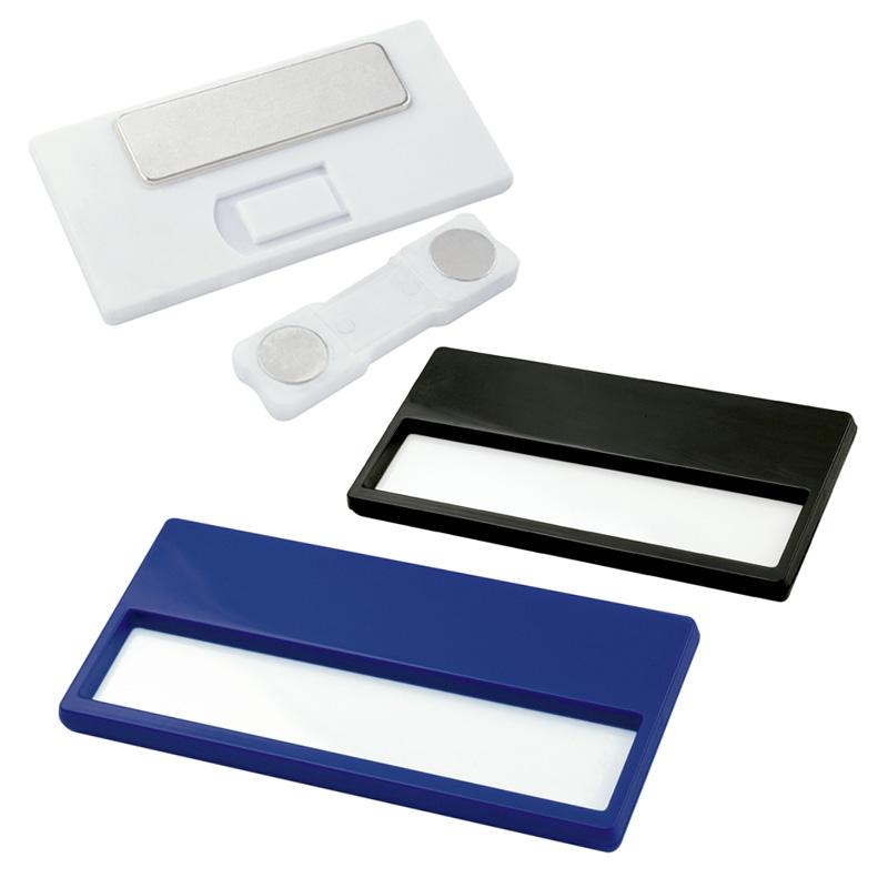 Portaidentificador Magnético en Plástico - OFERTA