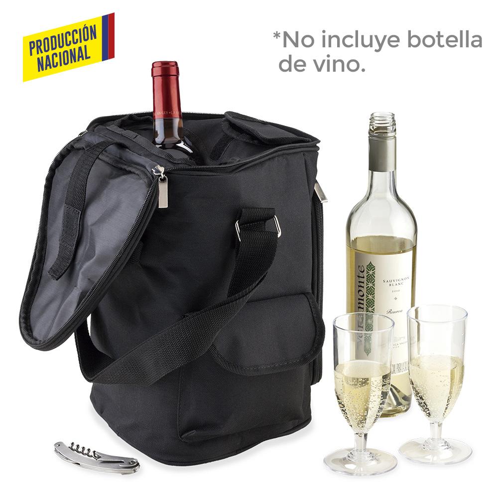 Nevera Wine Cooler Bag - Producción Nacional (Ver Copa VA-157)