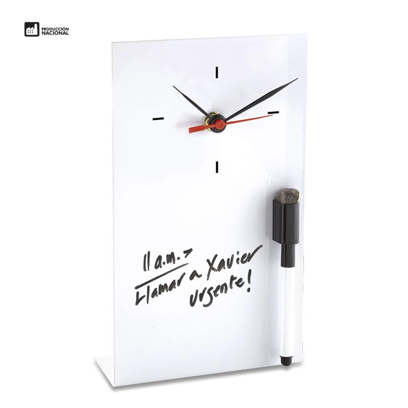 Reloj Metal Memo (Producción Nacional)
