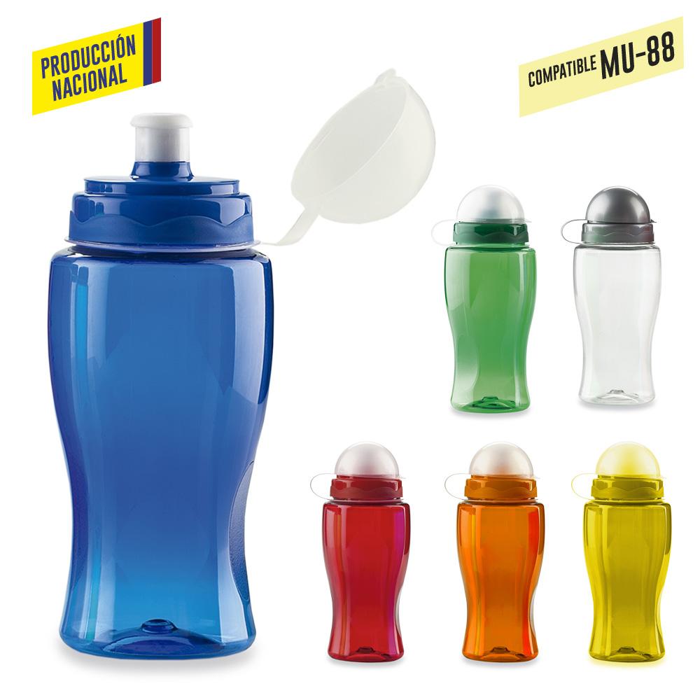 Botilito Siluet - 500 ml-Ver tipo tapa-Produccion Nacional