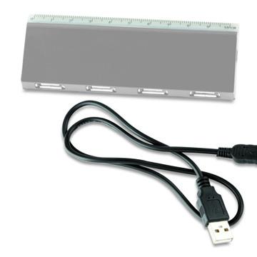 Puerto USB con Regla - OFERTA