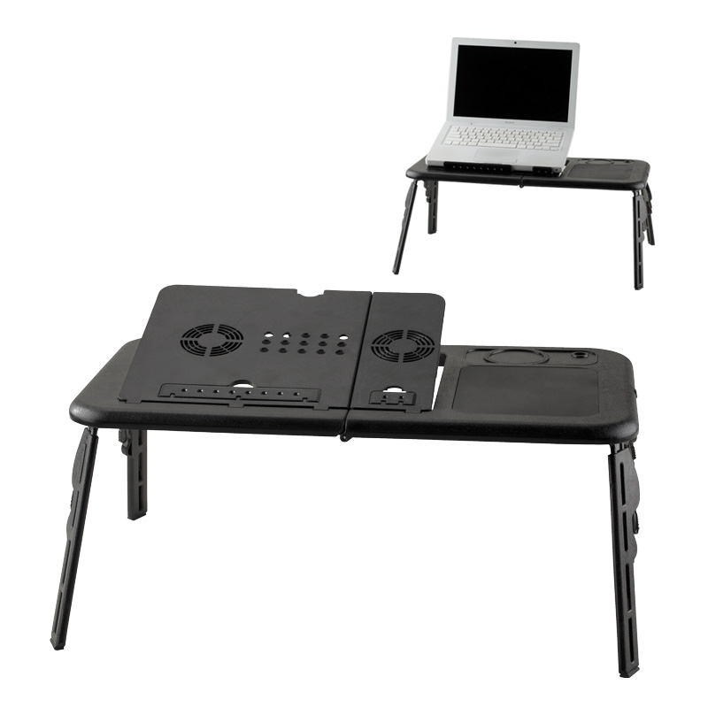 Laptop Desk Plegable con Ventilador - OFERTA