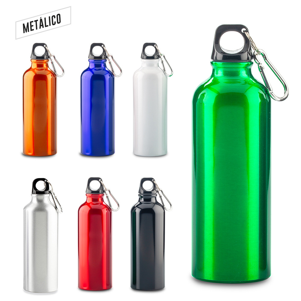 Botilito metálico Sport Bottle - 500 ml.