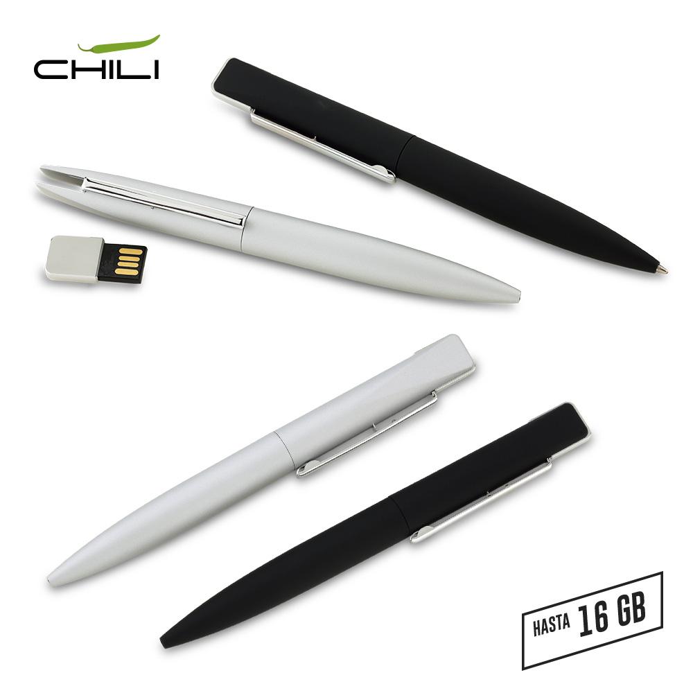 Memoria USB Boligrafo Slim