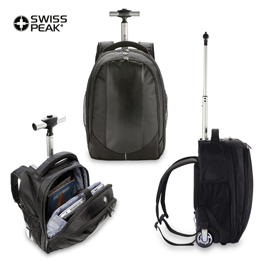 Morral Backpack con trolley Swisspeak