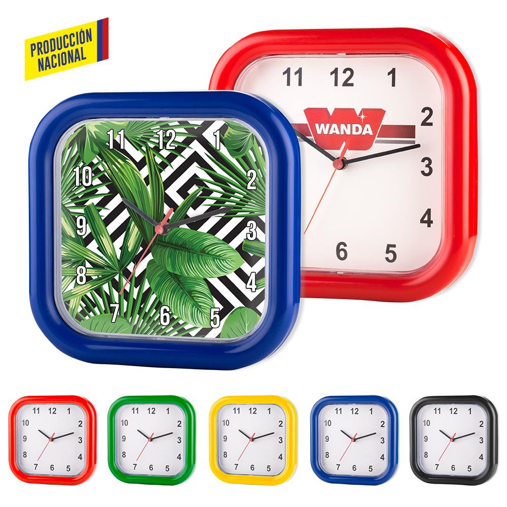 Reloj Mondrian Cuadrado - Produccion Nacional