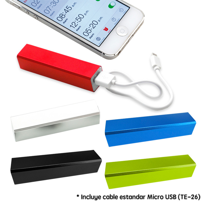 Pila recargable Power Bank (Ver TE-25 / TE-26) - OFERTA