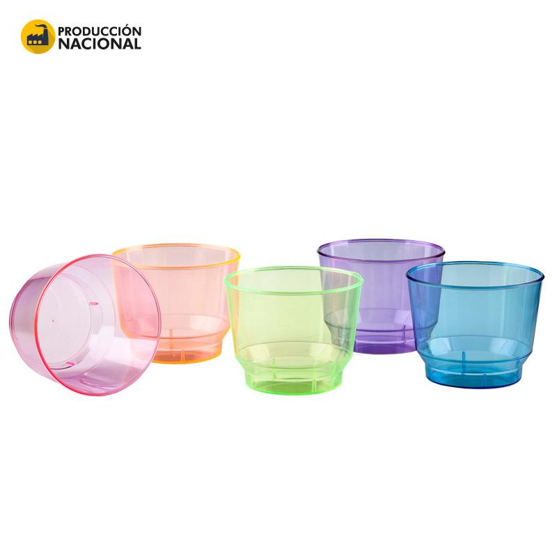 Mini Vaso Party 5 oz Cristal - Produccion Nacional