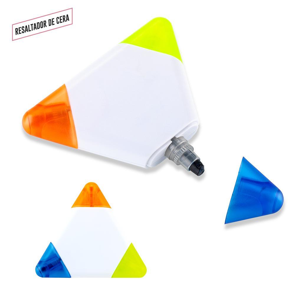 Resaltador magico de cera Triangulo