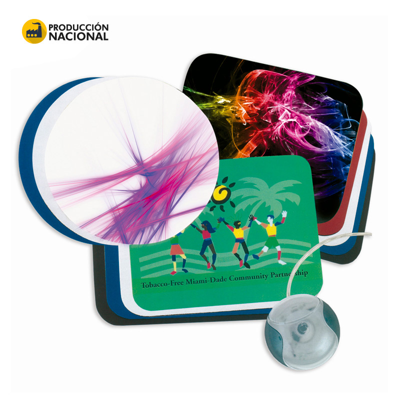 Mouse Pad Plastificado