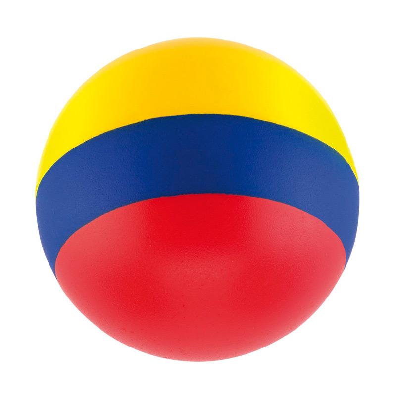 Bola Antiestrés Tricolor