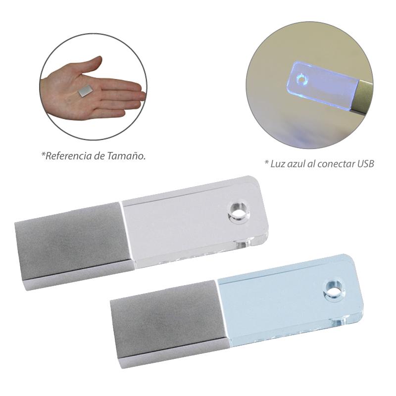 Memoria USB Mini Crystal PRECIO NETO