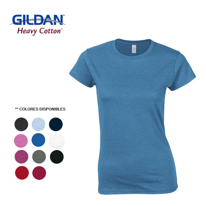 GILDAN CAMISETA T-SHIRT DAMA TALLA XL