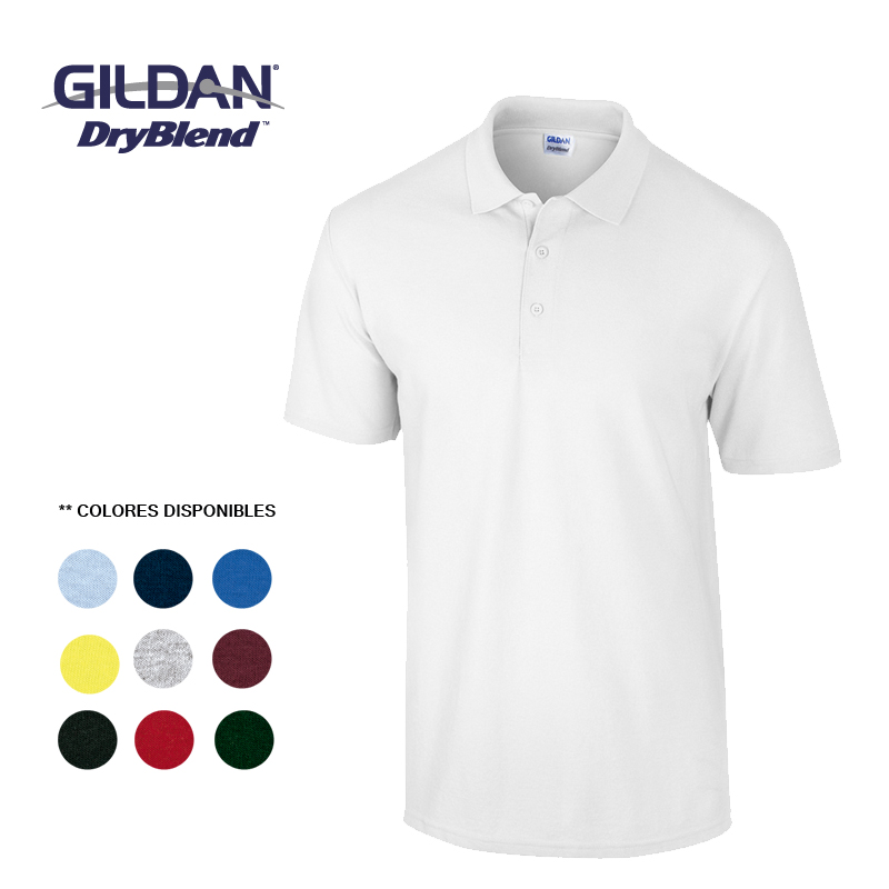 GILDAN CAMISETA POLO ADULTO TALLA XL
