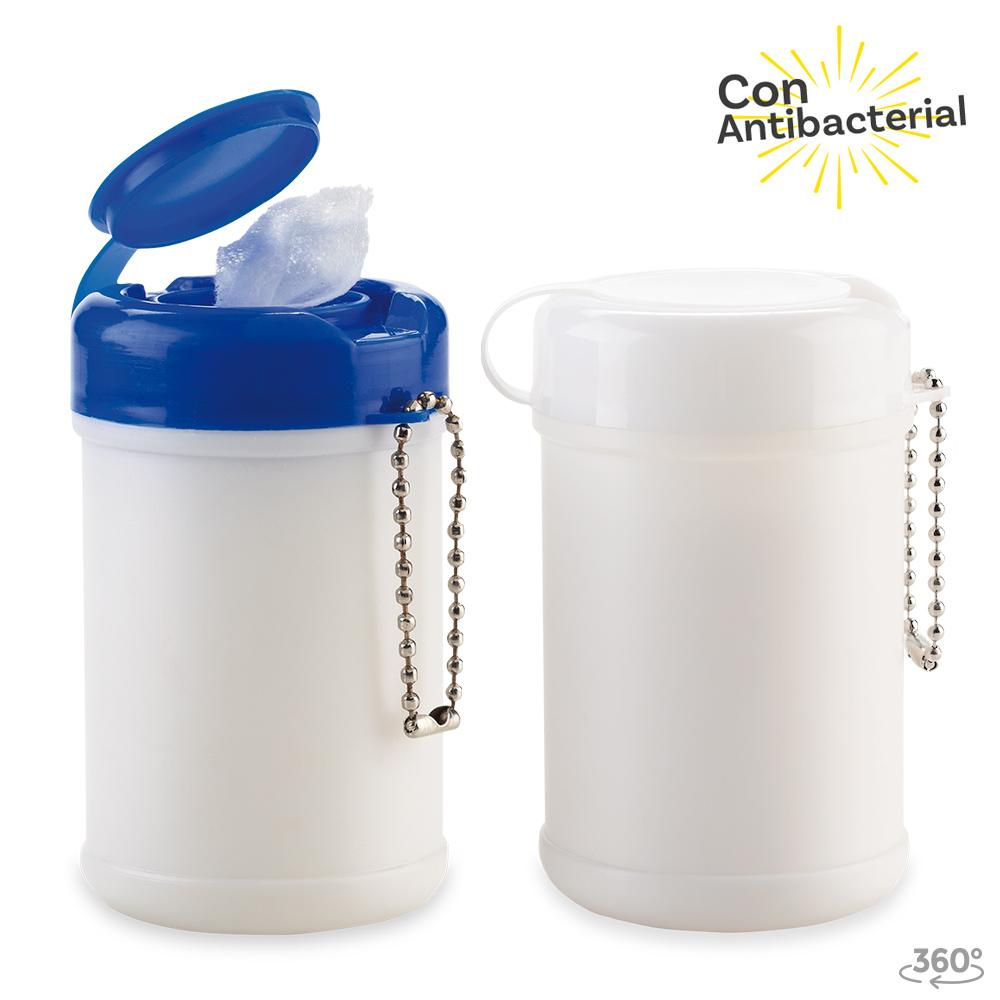 Mini Tarro Paños Humedos Antibacterial 30und