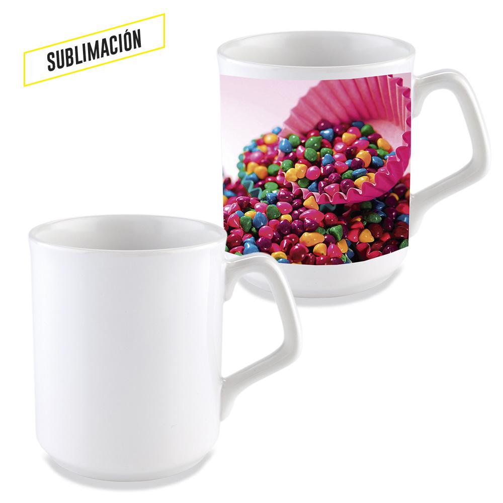 Mug cerámica para sublimacion Sparta 9oz