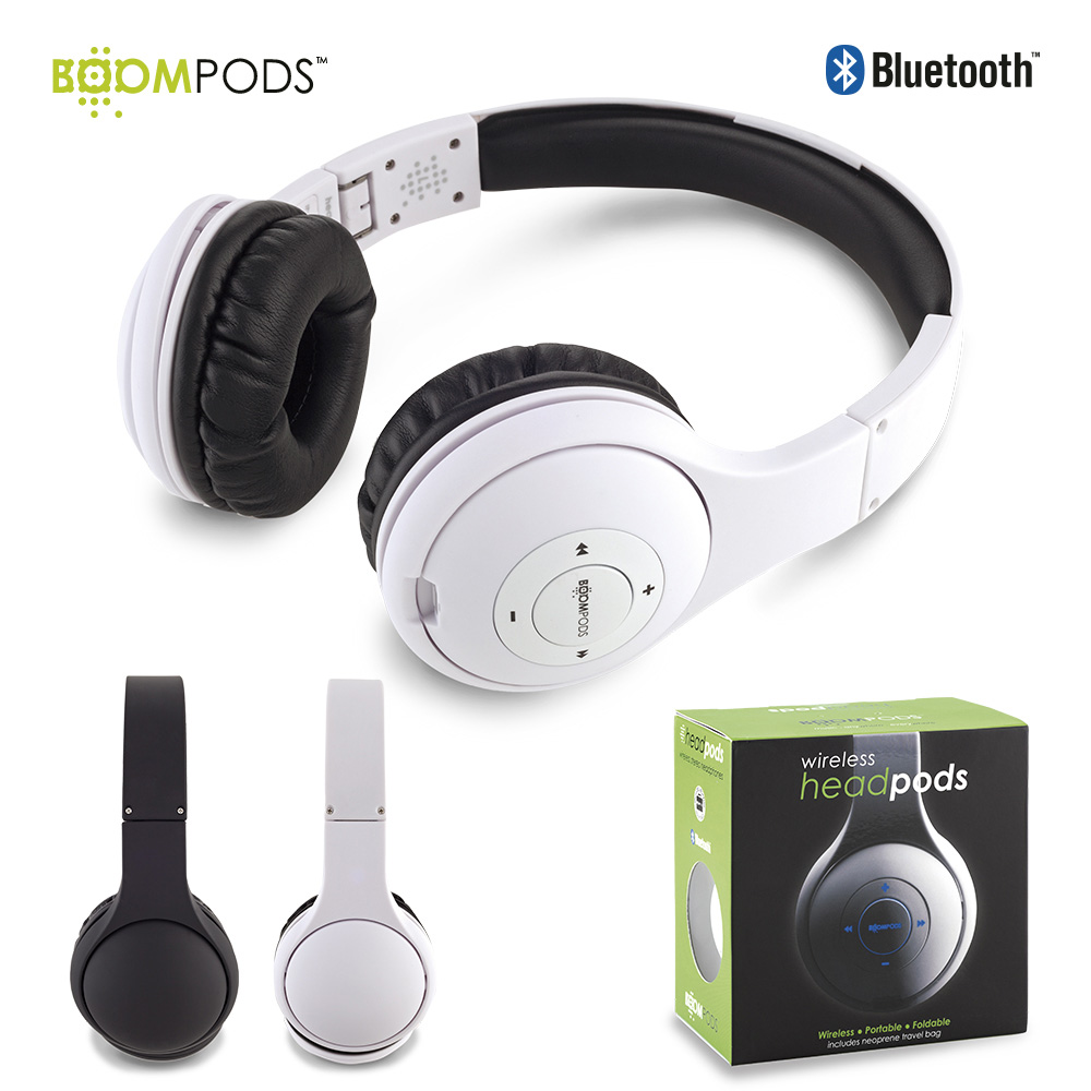Audifonos Bluetooth Headpods - Boompods OFERTA