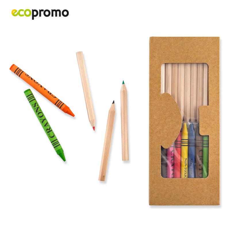 Set de Colores con Crayolas