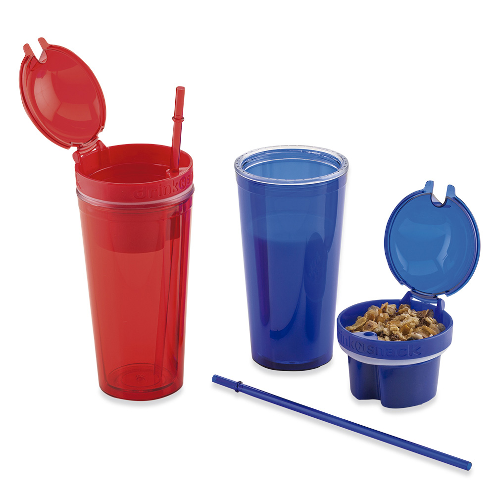 Mug 2 en 1 Drink 'N Snack 420ml
