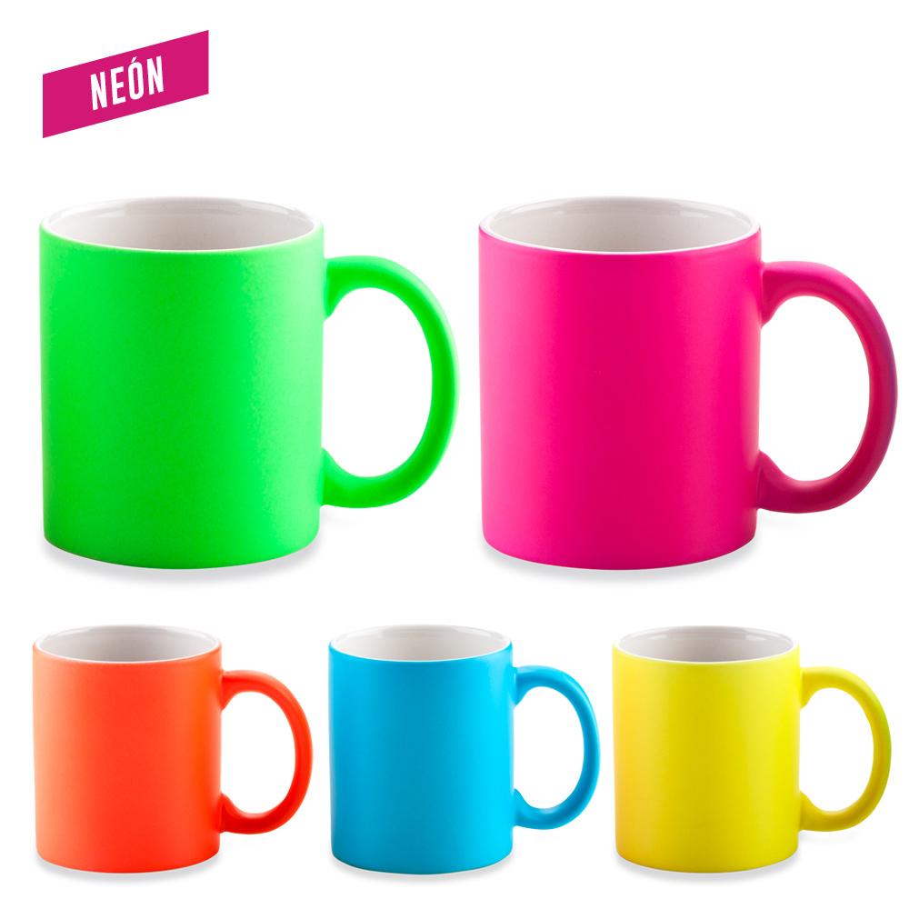 Mug Ceramica Neon 11oz