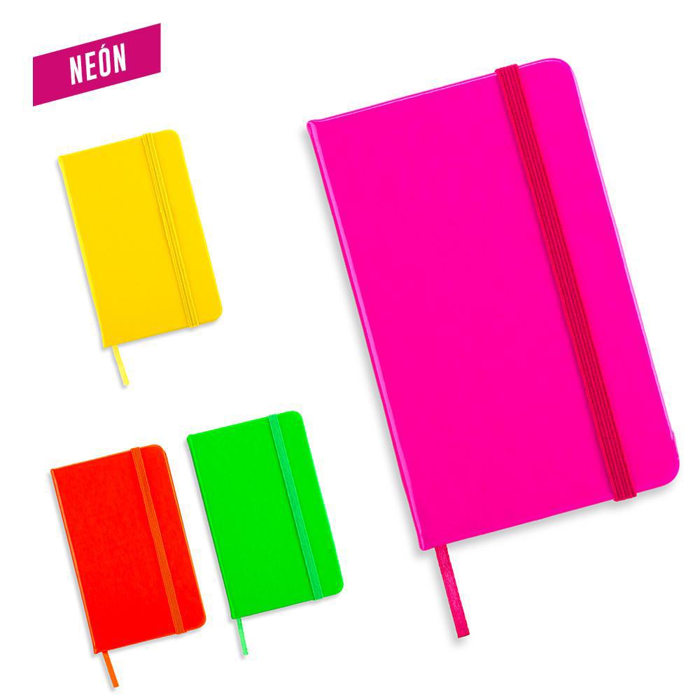 Mini Libreta Neon