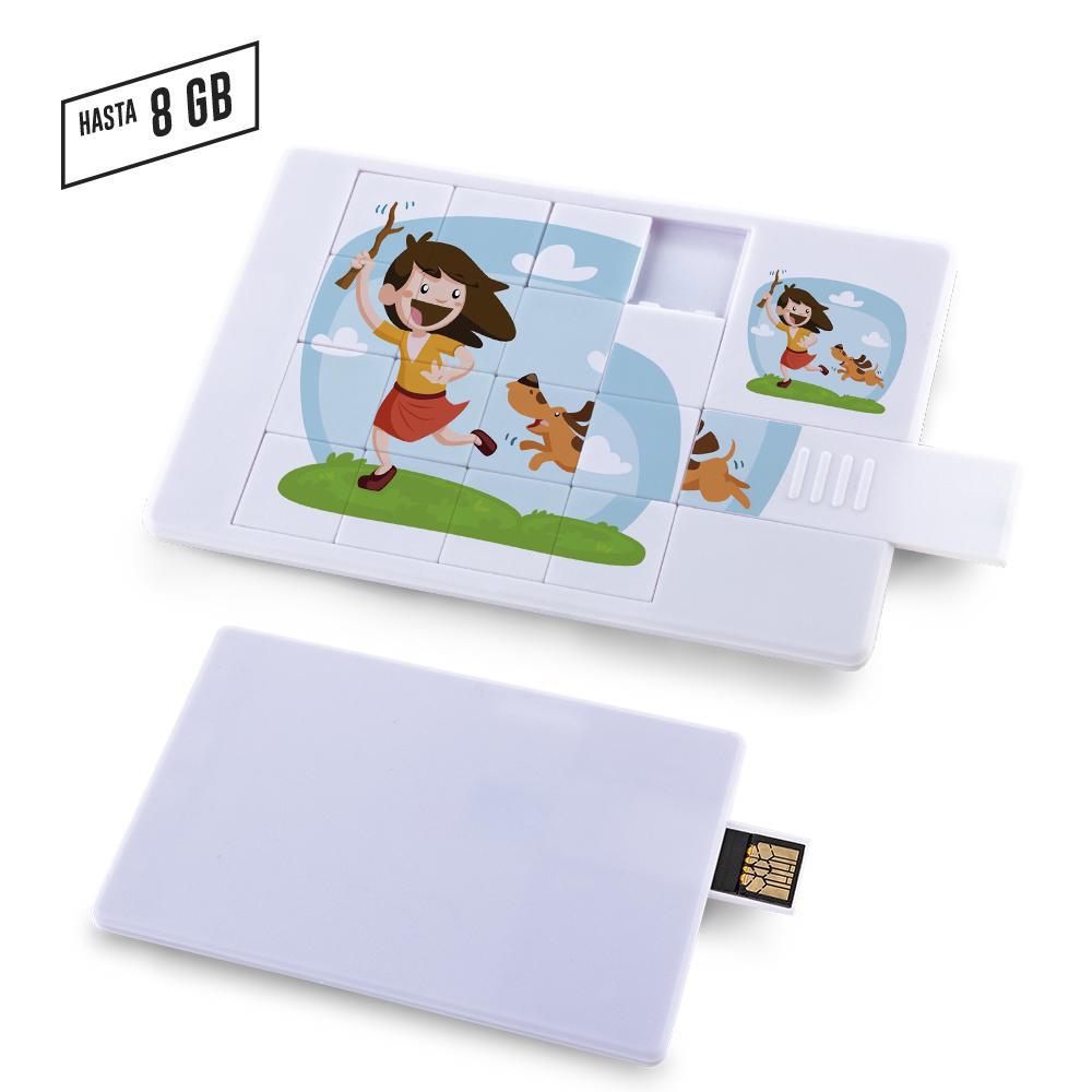 Memoria USB Card Enigma - OFERTA PRECIO NETO