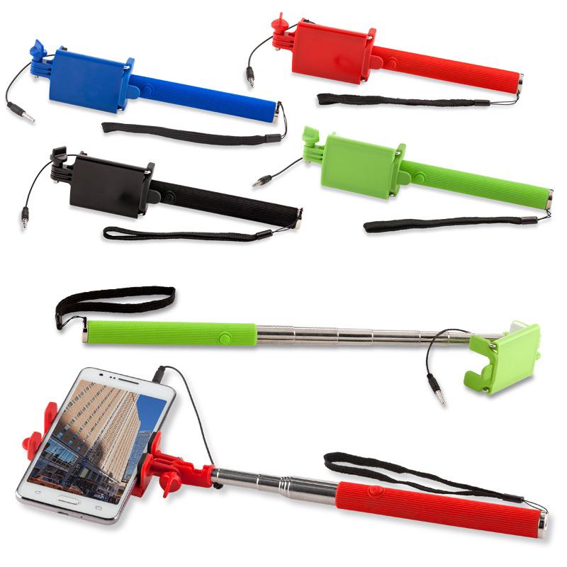 Soporte para móvil monopod Selfie con Cable II