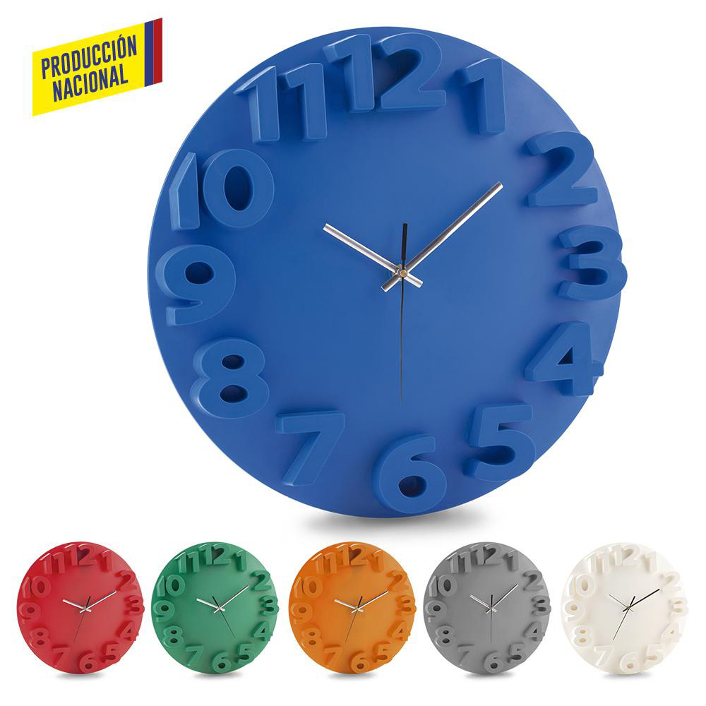 Reloj de Pared Tempo - Produccion Nal (Ver RE-152)