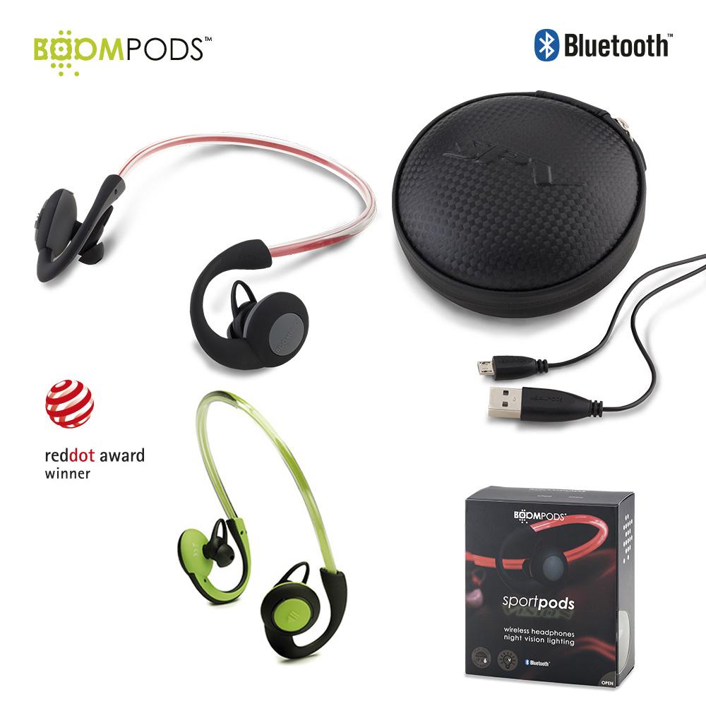 Audifonos Bluetooth Sportpods Vision - Boompods PRECIO NETO