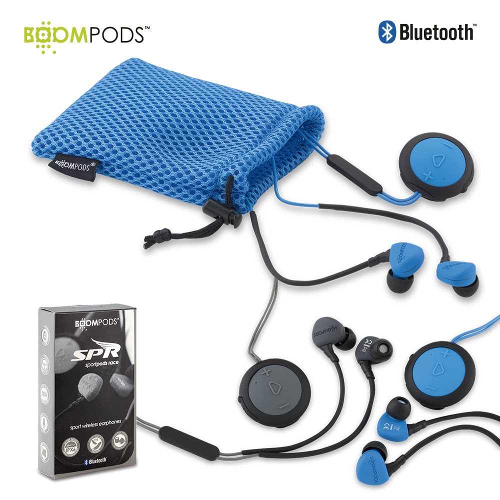 Audifonos Bluetooth Sportpods Race - Boompods