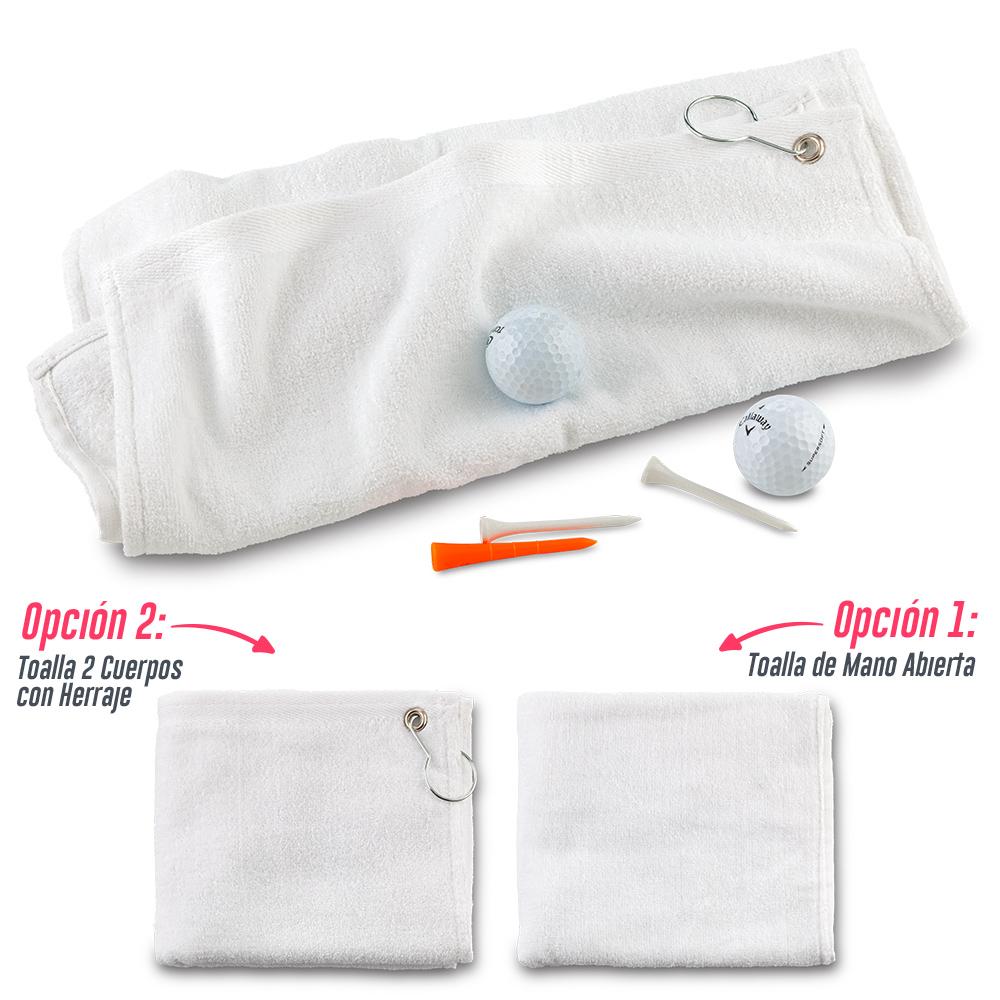 Toalla Golf /Toalla de mano Tundida (acabado fino)