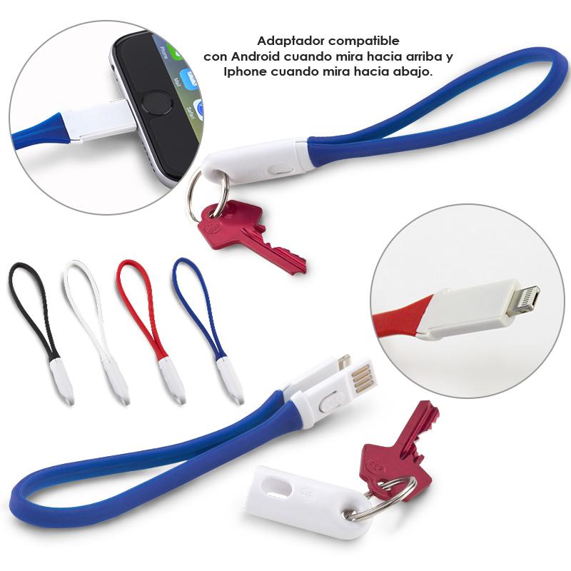Cable Multicargador 2 en 1 - OFERTA
