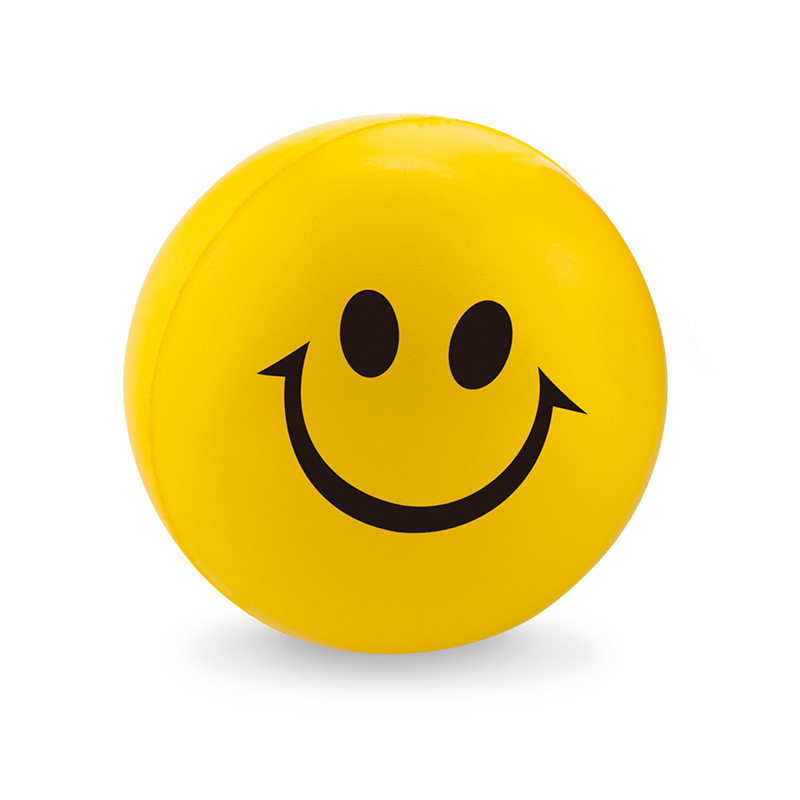 Bola Antiestrés Smiley 6.3cm