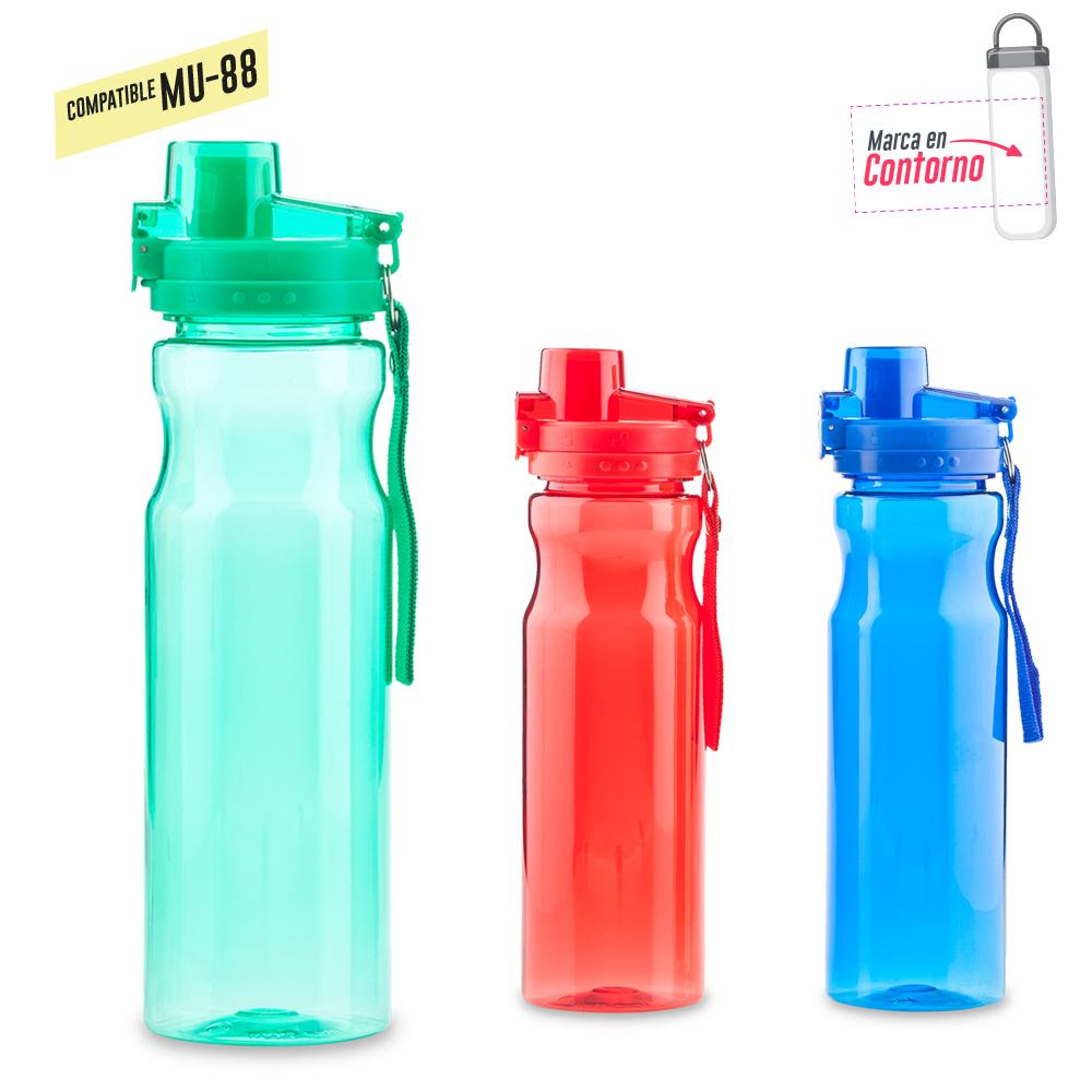 Botilito Plastico Glimmer 900ml