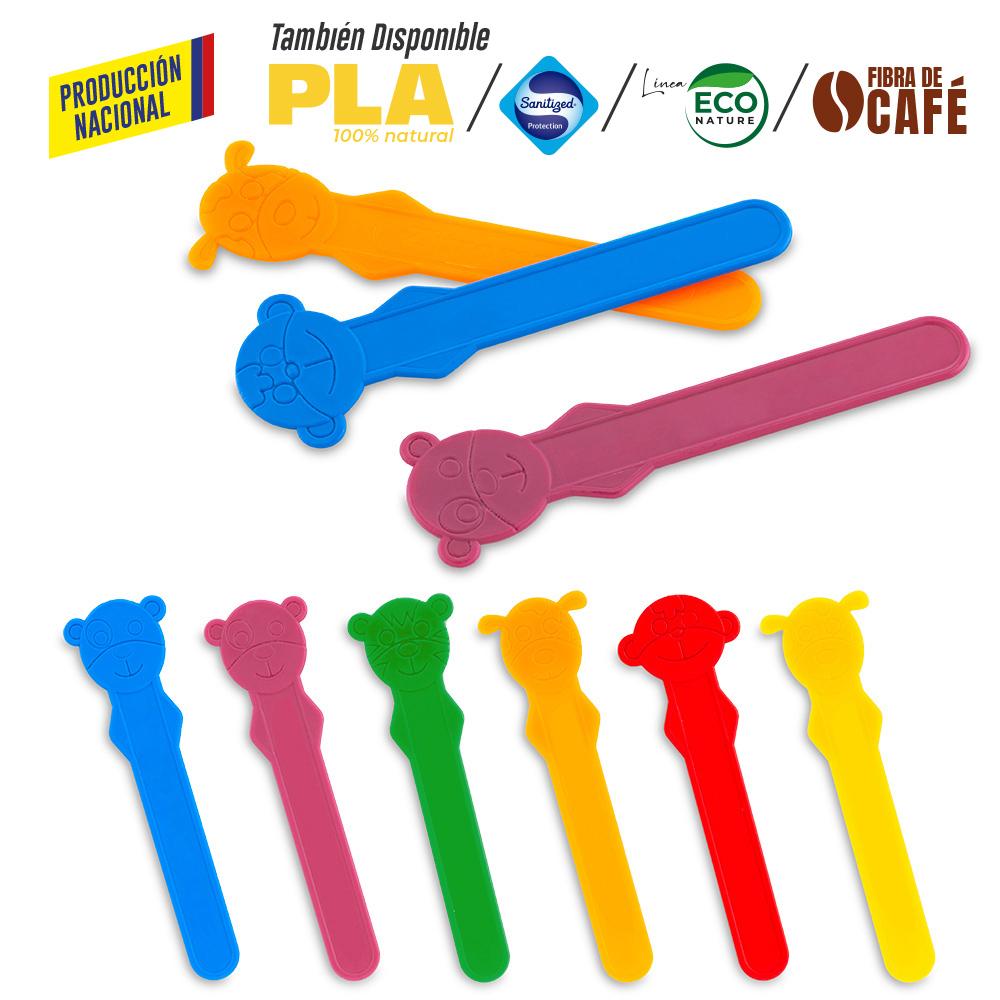 Bajalenguas Plástico- Producción Nacional