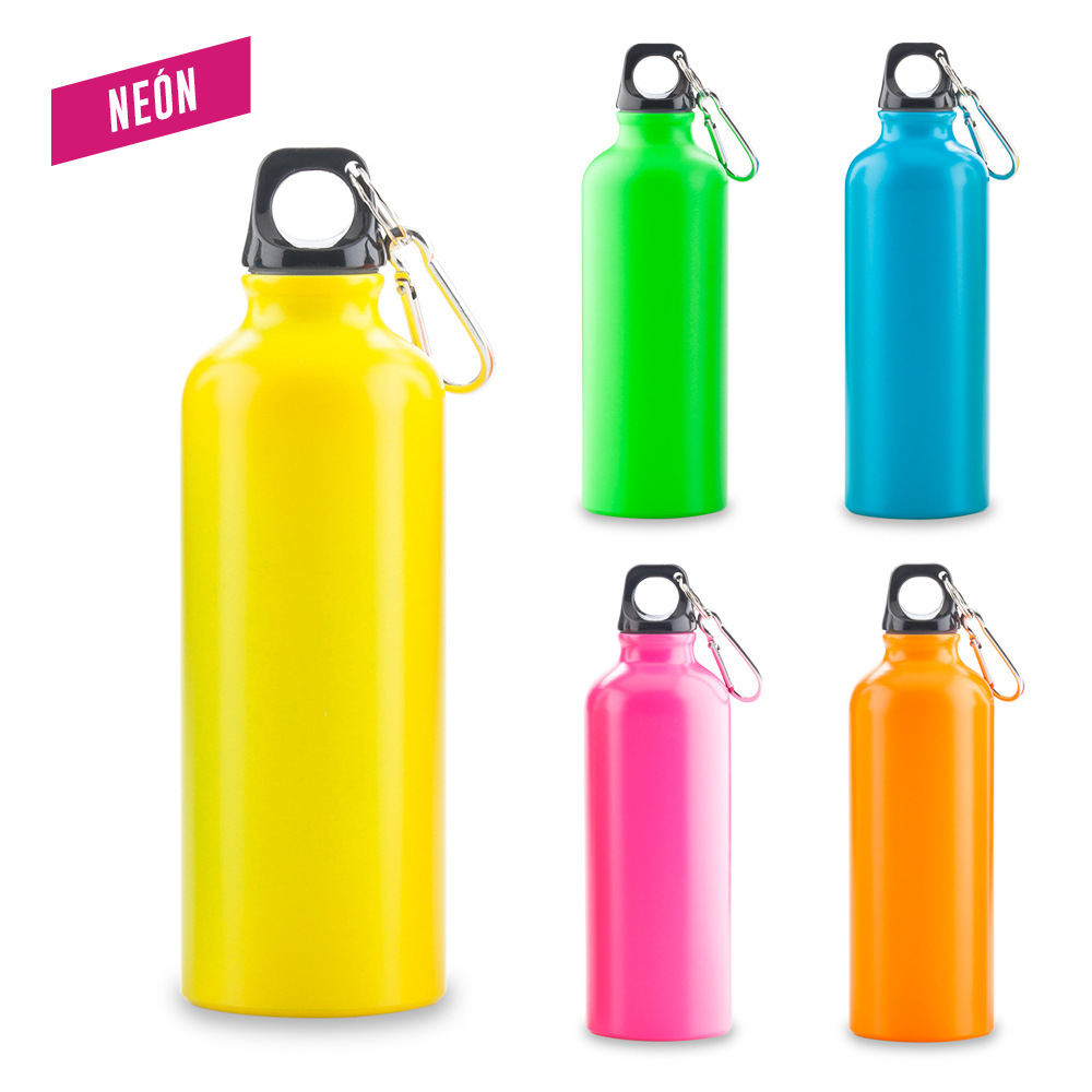 Botilito Metálico Sport Bottle Neon - 500 ml