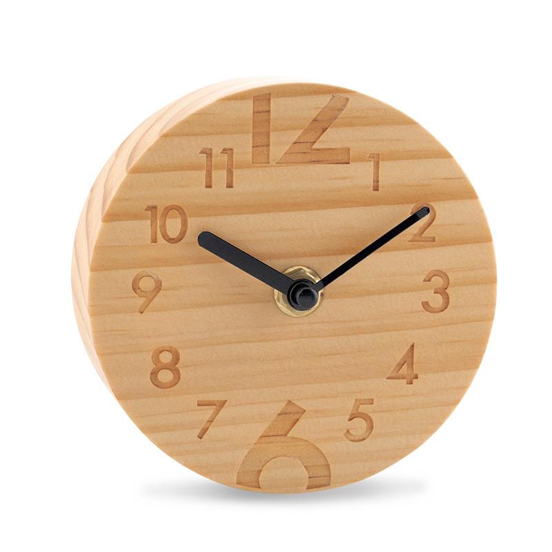 Reloj De Mesa Woody