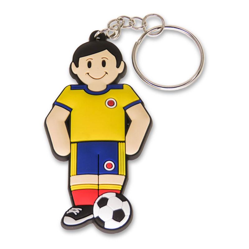 Llavero PVC Soccer Player