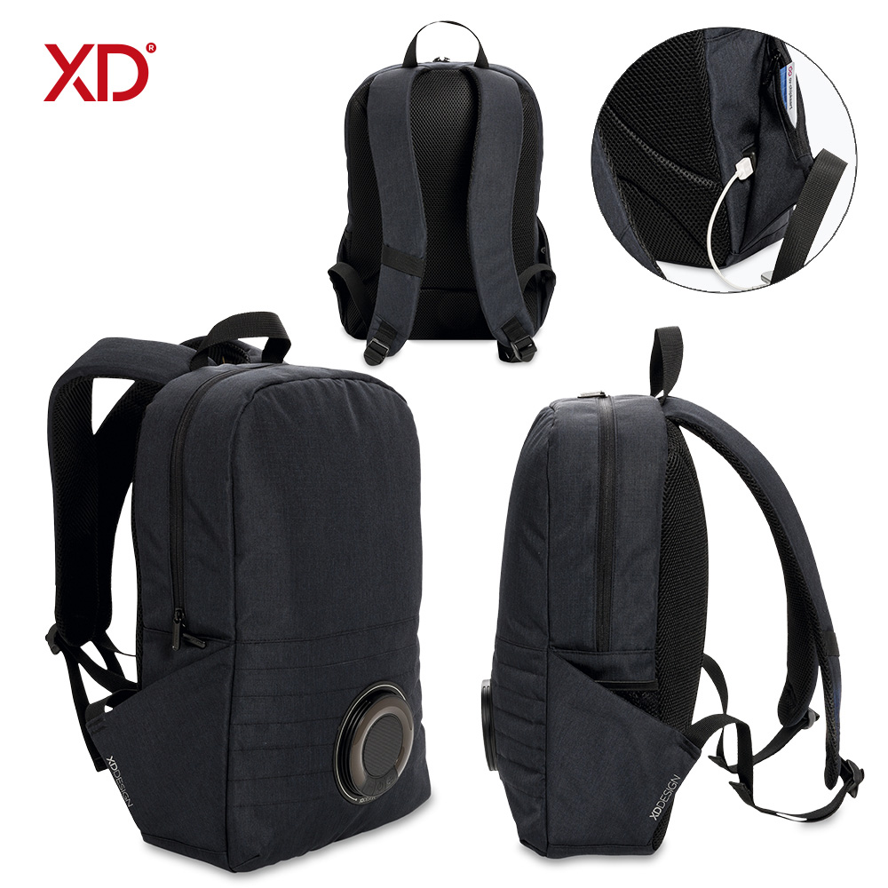 Morral Backpack con Speaker Party