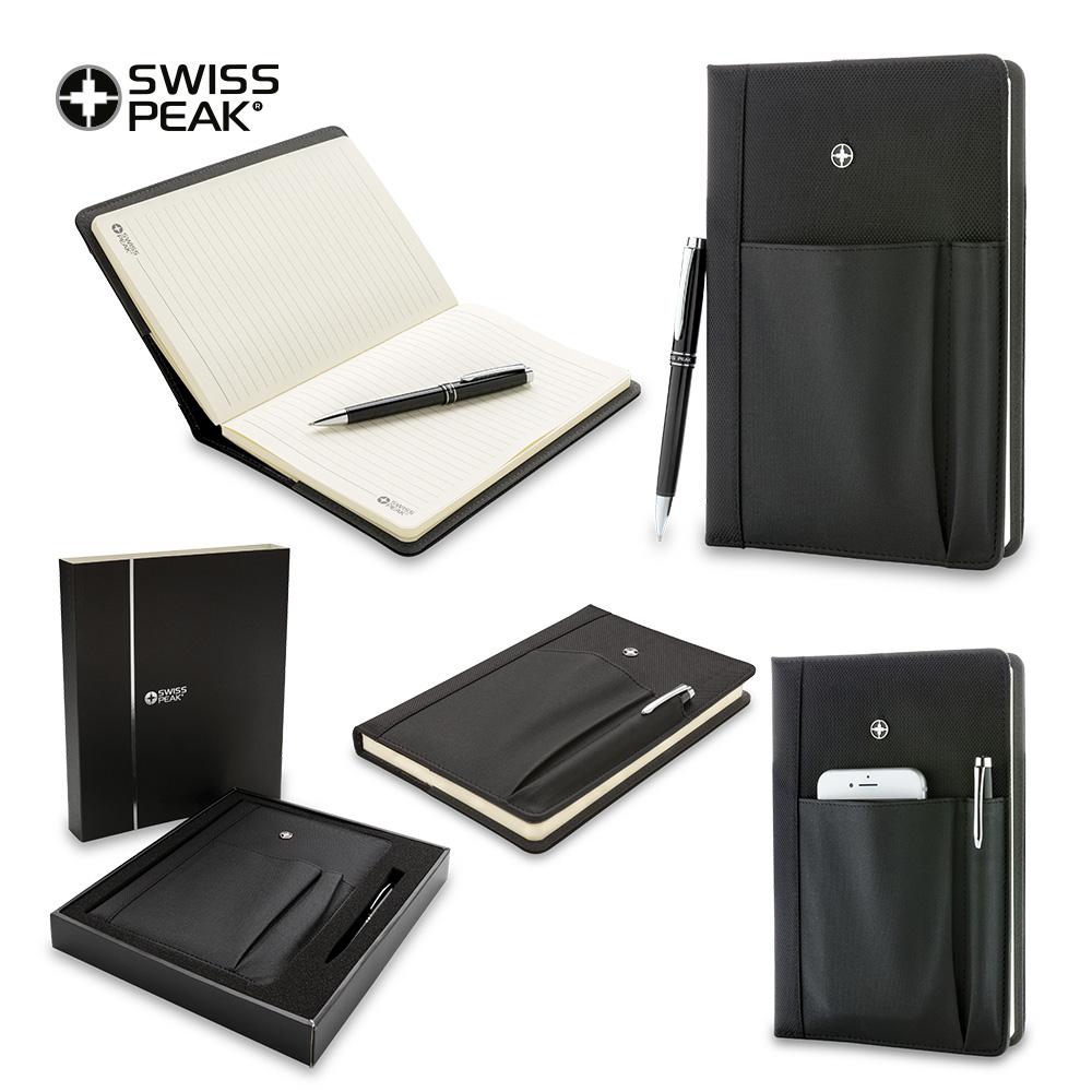 Set de Libreta y Bolígrafo Swisspeak