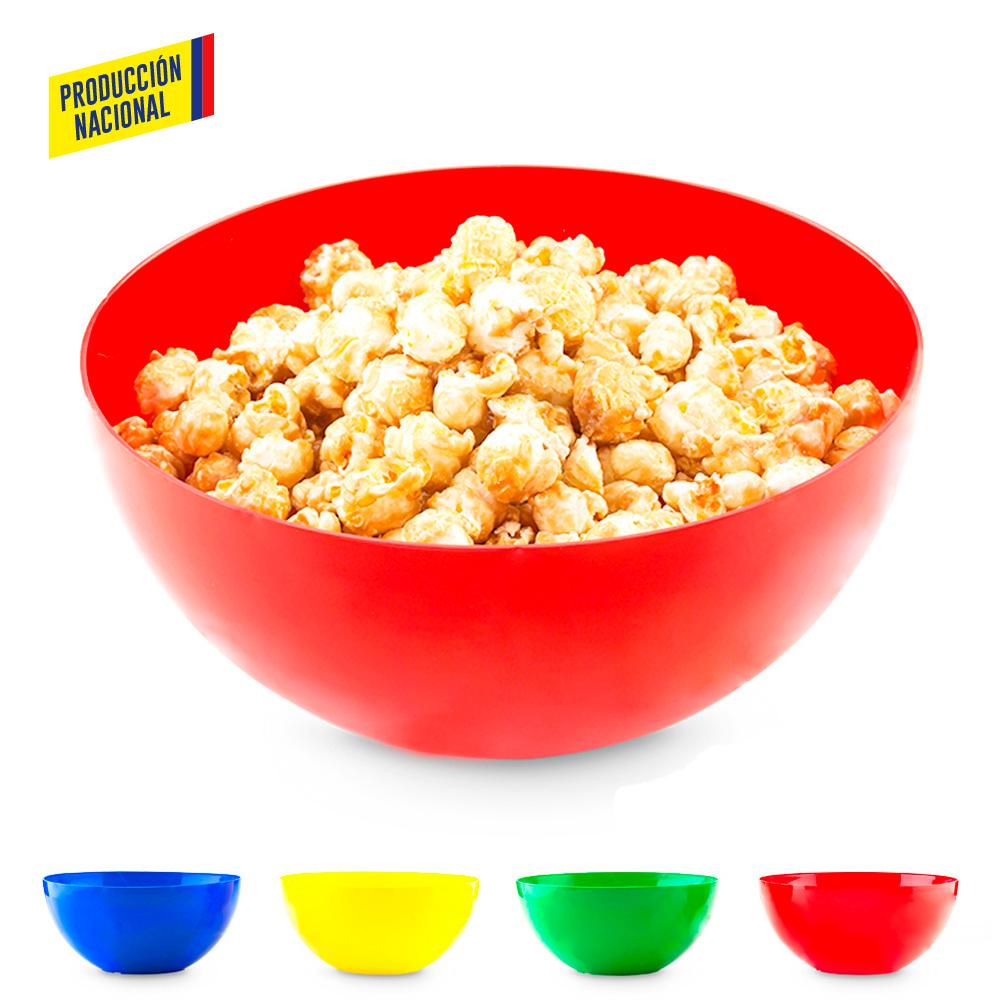 Bowl Plástico Liso - Produccion Nacional