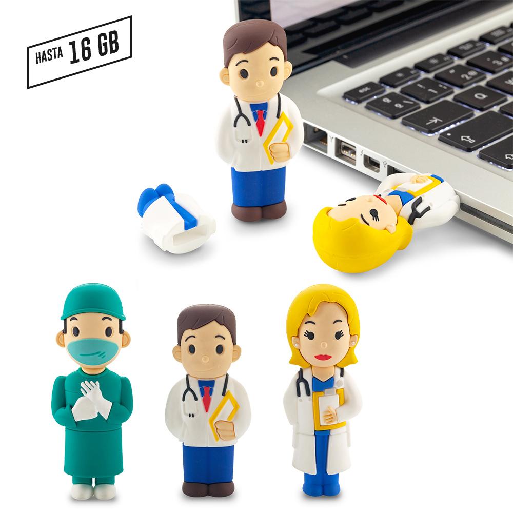 PVC Memoria USB Medic 3D - Ver OF-228-CH PRECIO NETO NUEVO
