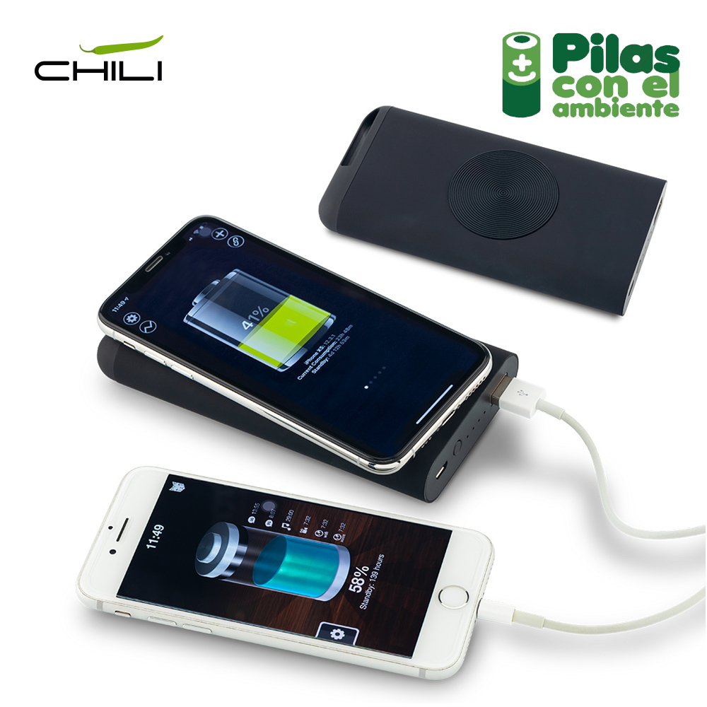 Pila Recargable Wireless Chili 8000 mAh