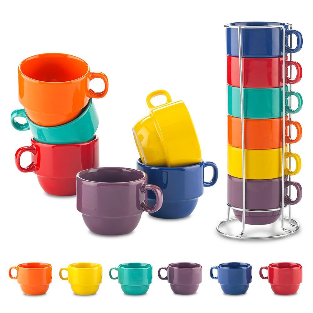 Set de Mugs Cerámica Kolors NUEVO