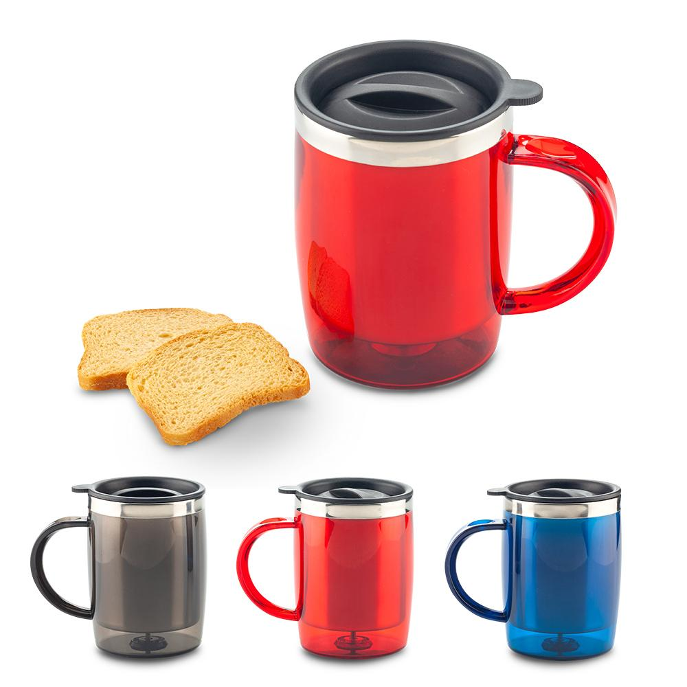 Mug Metalico Acrylic 400ml